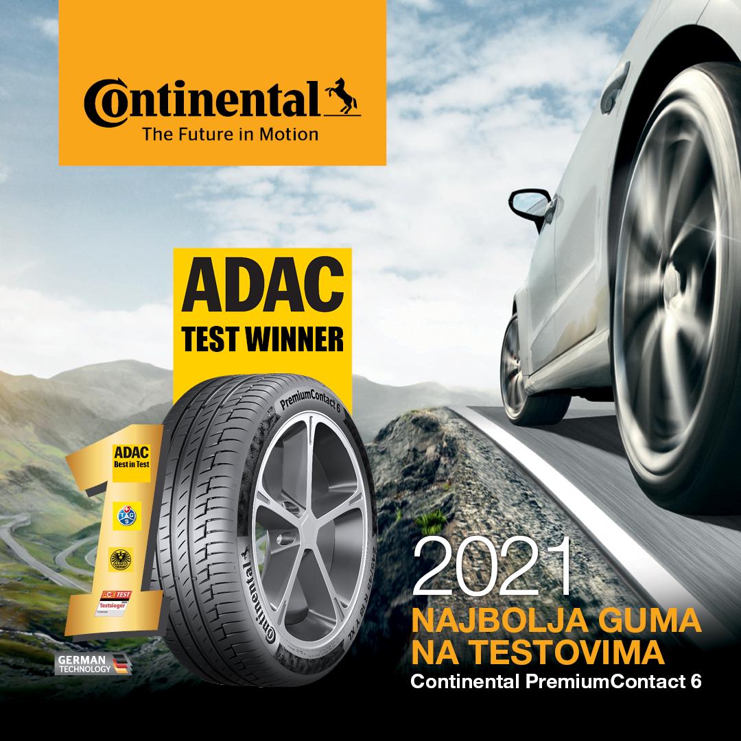 POBJEDNIK ADAC 2021 TEST-A