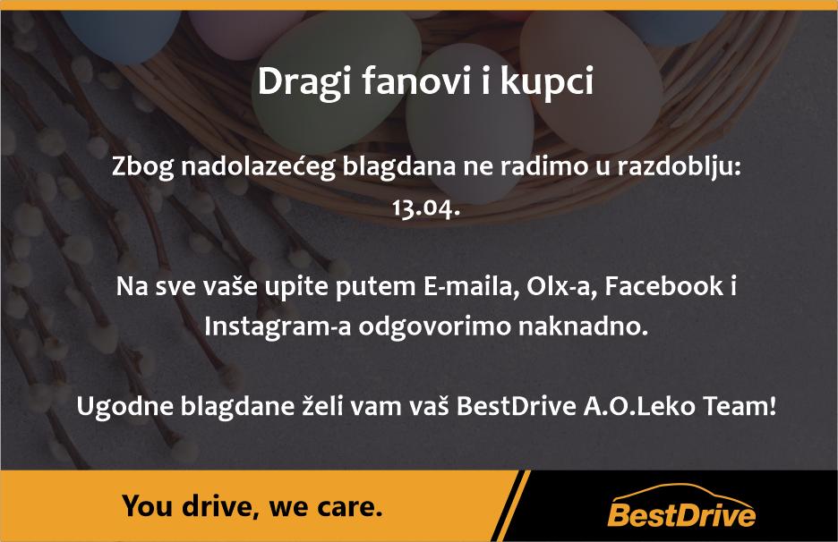 SRETAN USKRS ŽELI VAM VAŠ BEST DRIVE A.O.LEKO TEAM